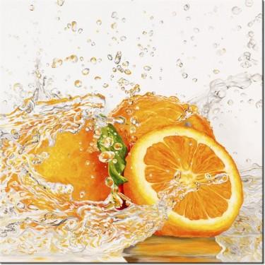 Obraz Pomarańcza w wodzie