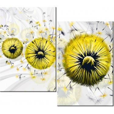 Obraz Żółte dmuchawce 5