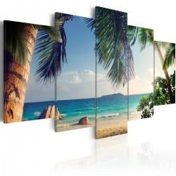 Obraz  Pod palmami