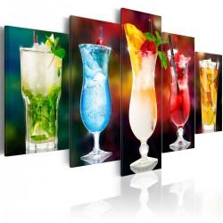 Obraz - Drink z parasolką
