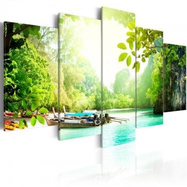 Obraz  Pod osłoną drzew