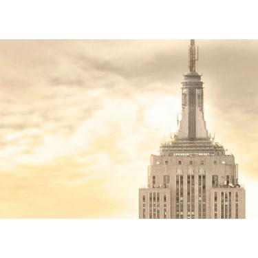 Obraz  Nowy Jork i wschód słońca