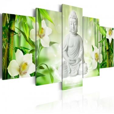 Obraz  Budda i jaśmin