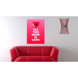 Obraz  Shine of love