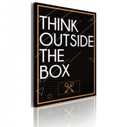 Obraz  Think outside the box