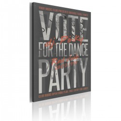 Obraz  Vote for the dance party!