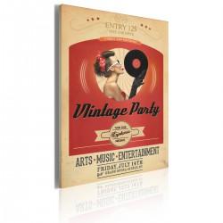 Obraz - Vintage party