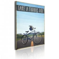 Obraz  Take a furious ride