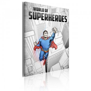 Obraz  World of superheroes