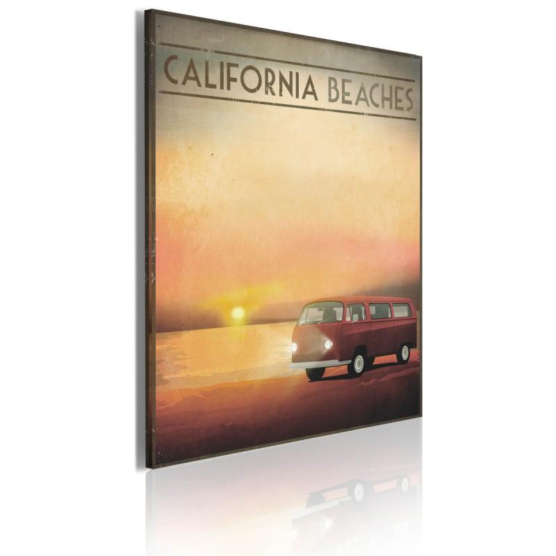 Obraz  California beaches