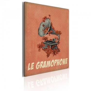 Obraz  Le gramophone