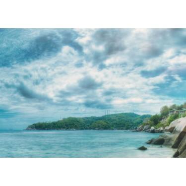 Obraz  Turkusowy raj