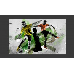 Fototapeta  Gwiazdy futbolu