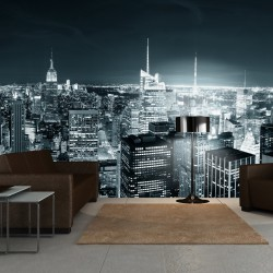 Fototapeta Nocne życie Nowego Jorku