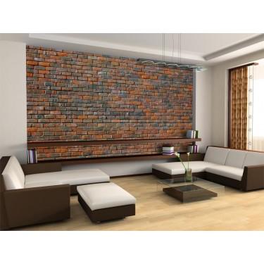 Fototapeta  Ściana z cegły