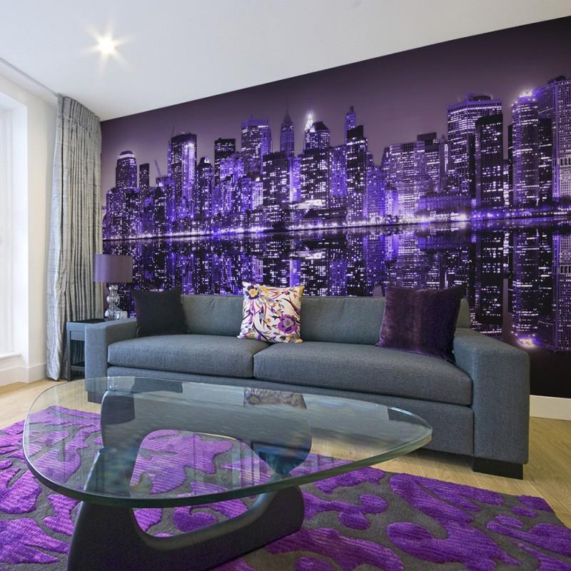 Fototapeta  American violet