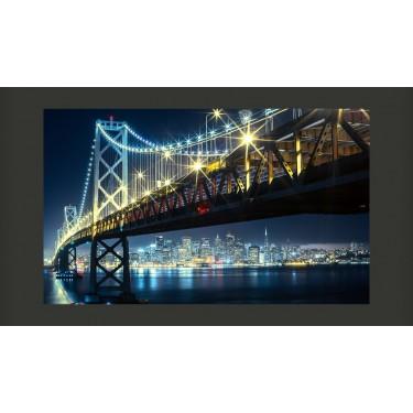 Fototapeta  Bay Bridge nocą