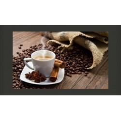 Fototapeta  Star anise coffee