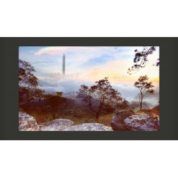 Fototapeta  mglisty  horyzont