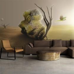 Fototapeta - pustynia - motyw abstrakcyjny