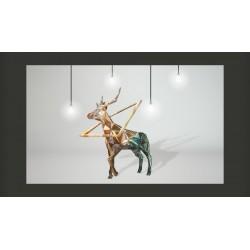 Fototapeta  jeleń (3D)