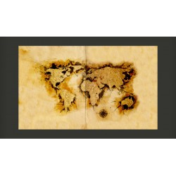 Fototapeta  Mapa poszukiwaczy złota