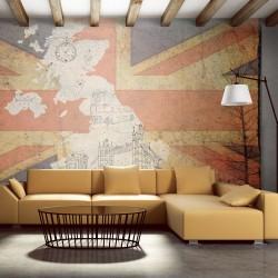 Fototapeta Pocztówka z Wielkiej Brytanii