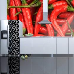 Fototapeta - papryka chili - tło