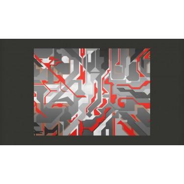 Fototapeta  Abstrakcyjne geometryczne ścieżki