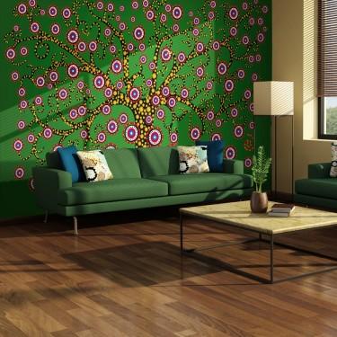 Fototapeta  abstrakcja drzewo (zielony)