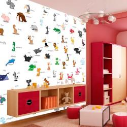 Fototapeta - zwierzęta (dla dzieci)