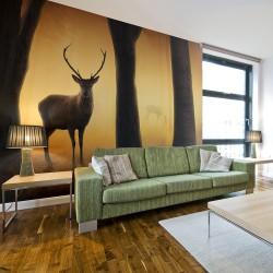 Fototapeta - Deer in his natural habitat