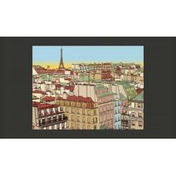 Fototapeta  Dzień dobry Paryżu