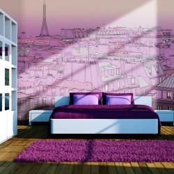 Fototapeta - Piątkowy wieczór w Paryżu