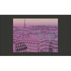 Fototapeta  Piątkowy wieczór w Paryżu
