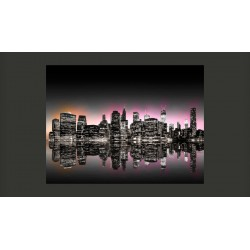 Fototapeta  Colorful glow over NYC