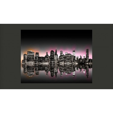 Fototapeta  Colorful glow over NYC
