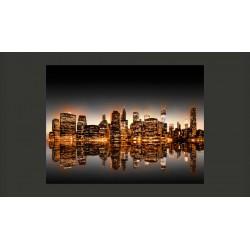 Fototapeta  Nowy Jork i złoto