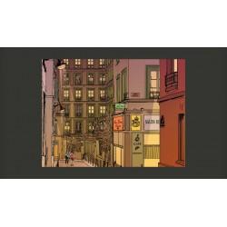 Fototapeta  Kolacja w Paryżu