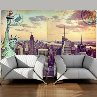 Fototapeta  Pocztówka z Nowego Jorku