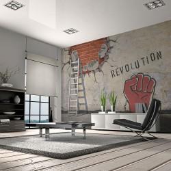 Fototapeta - Niewidzialna ręka rewolucji