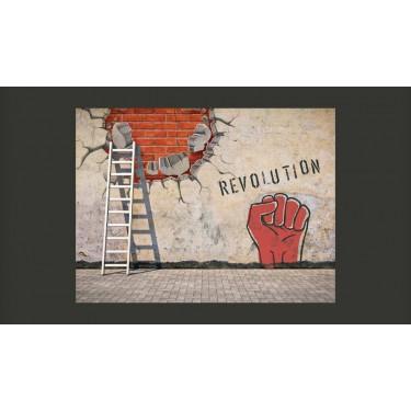 Fototapeta  Niewidzialna ręka rewolucji