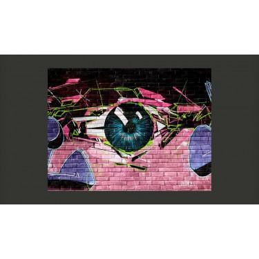 Fototapeta  oko (graffiti)