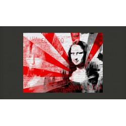 Fototapeta  Nowoczesny kolaż z motywem Mony Lisy