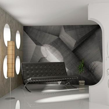 Fototapeta  Abstrakcyjne betonowe bloki