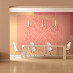 Fototapeta - Różowy ornament