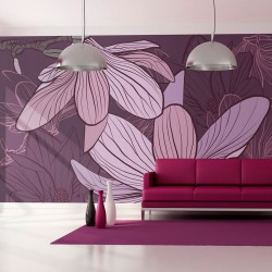 Fototapeta Fioletowe magnolie