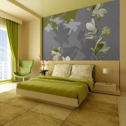 Fototapeta - Zielone magnolie