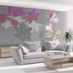 Fototapeta - Pastelowe magnolie