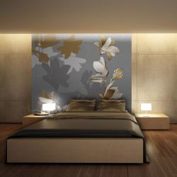 Fototapeta - Tańczące cienie magnolii